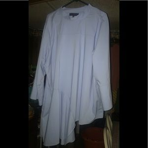 Brand new Eloquii asymmetrical hem blouse